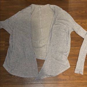 Abercrombie grey cardigan